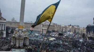 Caos en Kiev