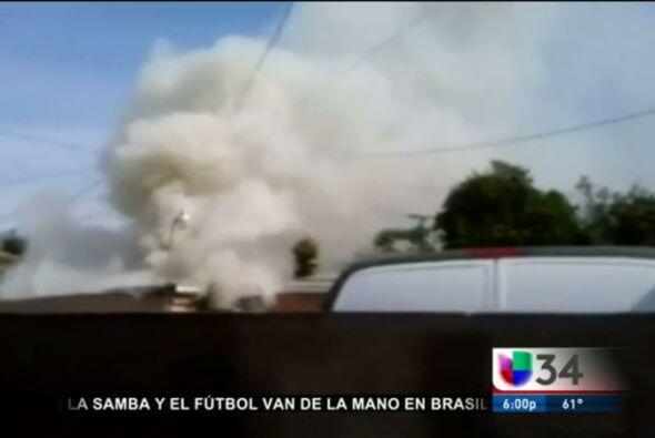 Madre e hijo mueren calcinados frente a sus vecinos:  Una comunidad en L...
