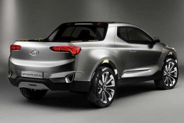 Hyundai Santa Cruz Concept: En cuanto a motorización se ha optado por un...