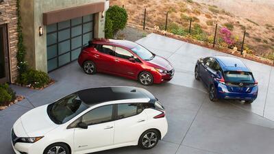 El nuevo Nissan Leaf 2018 en fotos