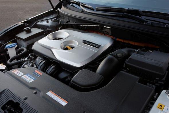 Hyundai Sonata Hybrid 2015- El conjunto mecánico está dotado de un motor...