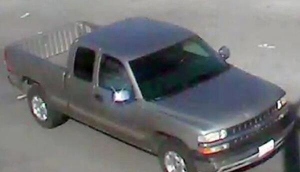 El vehículo que supuestamente conduce el sospechoso.