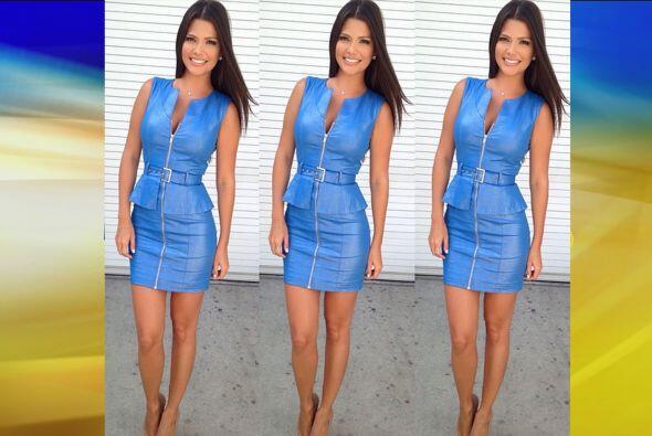 Agosto 25, 2014: ¡Wow! ¡Qué tal un vestido con cierre...