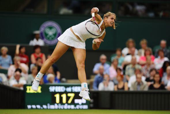 Lisicki llegó a Wimbledon por medio de invitación.