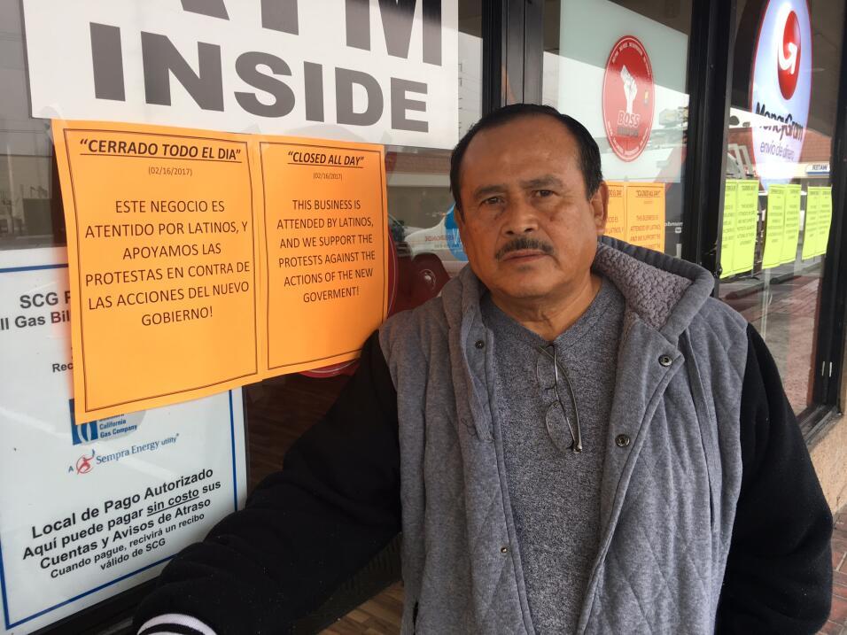 Javier Flores, un albañil que no trabajó en apoyo a la campaña Un día si...