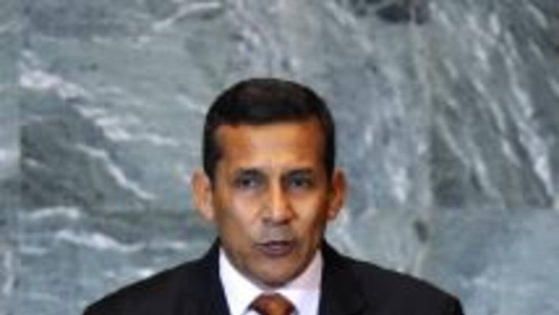 Presidente Ollanta Humala