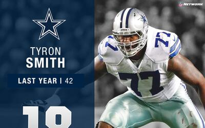 #18: Tyron Smith (OT, Cowboys) | Top 100 Jugadores 2017