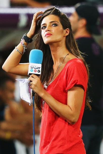 Nació en Toledo y es una de las periodistas deportivas más guapas.