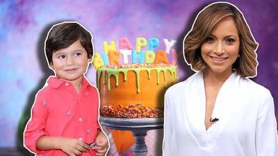 Celebramos el cumpleaños de Bruce, el hijo de Satcha Pretto ya tiene 4 años (fotos)