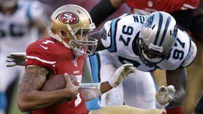 Los Panthers saben que Colin Kaepernick será mucho mejor en Playoffs Div...