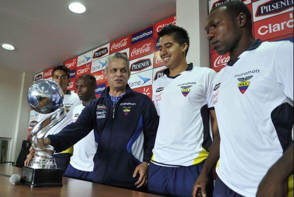 Por otra parte, Ecuador tiene algunas bajas pero no pierde las ganas de...