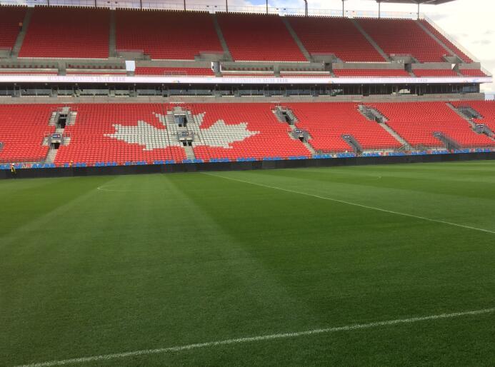 El BMO Field, casa de Toronto FC, reabre sus puertas tras renovación Ful...