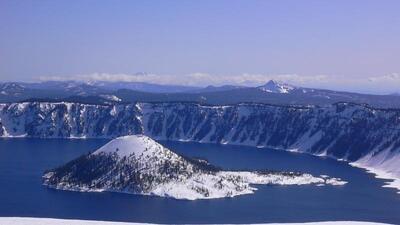 Así se ven los parques nacionales de Estados Unidos cubiertos de nieve