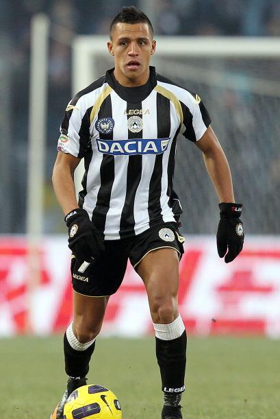 El chileno Alexis Sánzhez la 'rompe' en el Udinese. Lleva 12 tant...