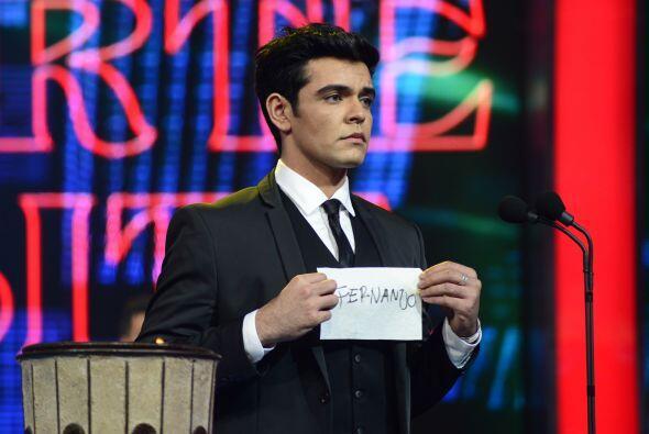 Espiridión también votó por Fernando.