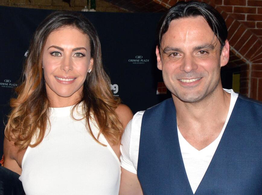 Vanessa Guzmán y Uberto Bondoni se conocieron hace 11 años en la serie &...