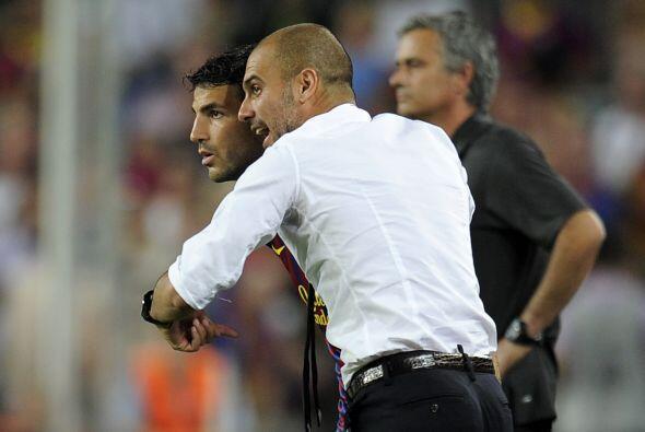 Pero Guardiola hizo sus últimos cambios con la intención d...