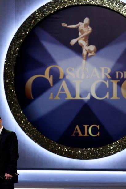 En Italia, se entregaron los premios 'Oscar del Calcio 2010' a los mejor...