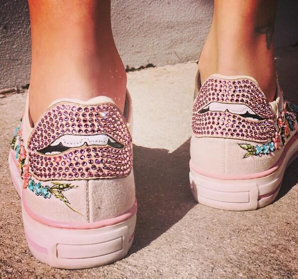 Galilea Montijo zapatos