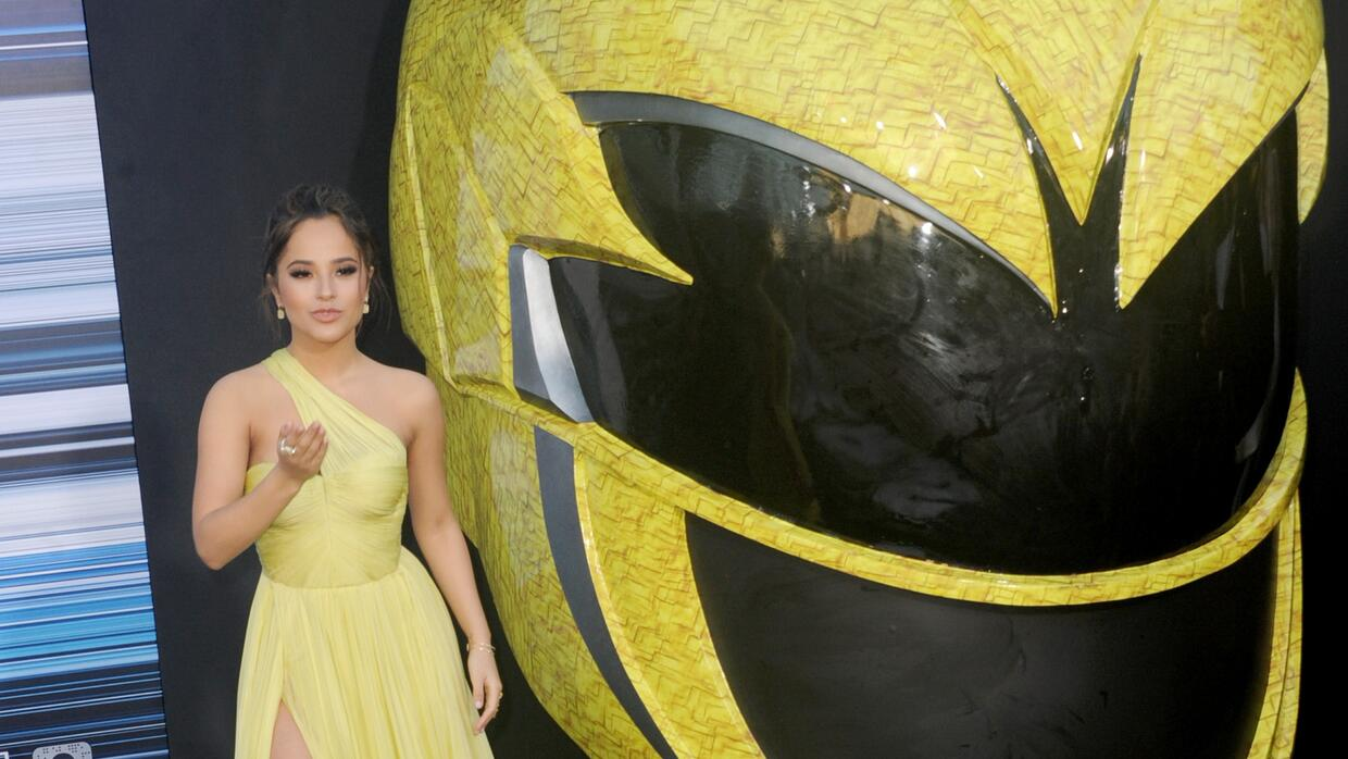 Becky G y los Power Rangers