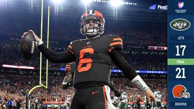¡Extra, extra! Los Cleveland Browns por fin ganaron con juegazo de Mayfield contra Jets