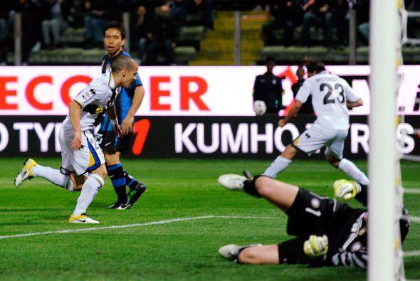 Sebastian Giovinco, jugador de la selección italiana, se llev&oac...