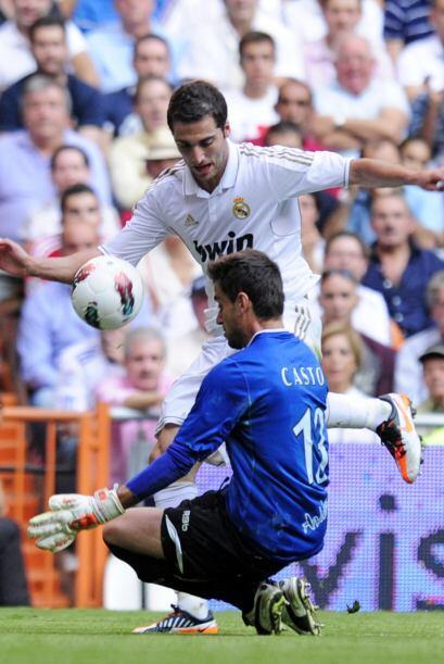 El 'Pipita' tocó suave y anotó el primero del partido.