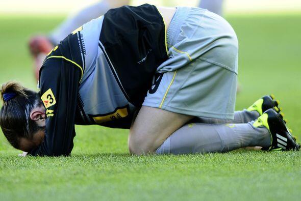 Sin embargo, fue una dolorosa derrota para el cuadro catalán que fue sup...