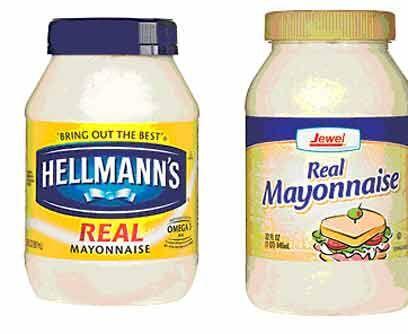 17. Hellmann's contra JewelVeredicto: Hellmann's.Es suave y moderadament...