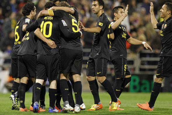 El Barcelona visitó a un necesitado Zaragoza y terminó gol...