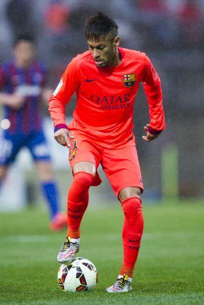 El otro que desequilibró a su regreso tras ser suspendido fue Neymar qui...