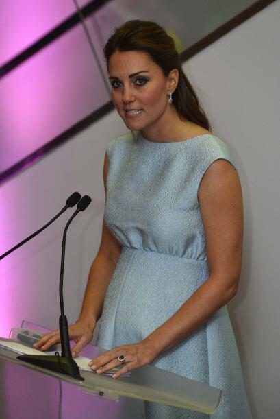 Kate Middleton siempre sabe qué decir y es una gran oradora.