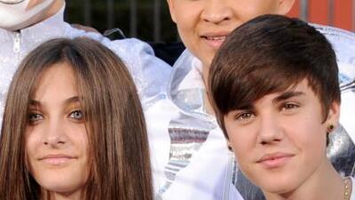 ¡Qué irónico! El año pasado Paris Jackson y Justin Bieber posaron juntos...