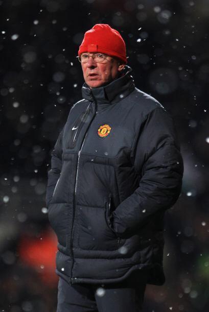 Sir Alex Ferguson se decantó por un cuadro alternativo con los 'Red Devi...