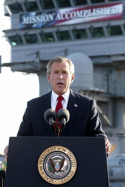 Tras los ataques ordenó la invasión de Afganistán en busca de Osama bin...