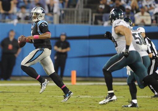 Los Panthers, bajo el mando de Cam Newton, mantuvieron el invicto al der...