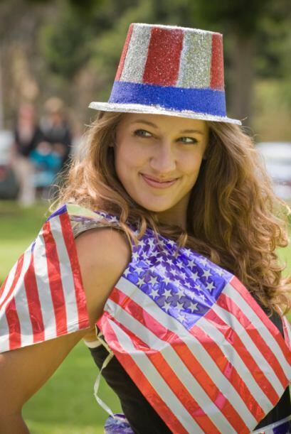 3.Vístete muy patriótico: contrario a México u otros países que prohíbe...