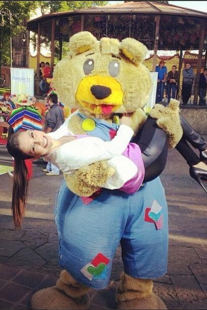 """""""El osito bipolar es tremendo! @DespiertaAmeric"""", compartió Ana. (Marzo..."""