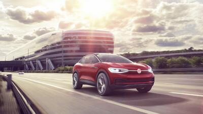 La I.D. Crozz Concept nos anticipa la primera SUV eléctrica de Volkswagen