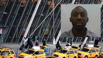 Se escapa en un taxi minutos antes de abordar el avión en el que iba a ser deportado