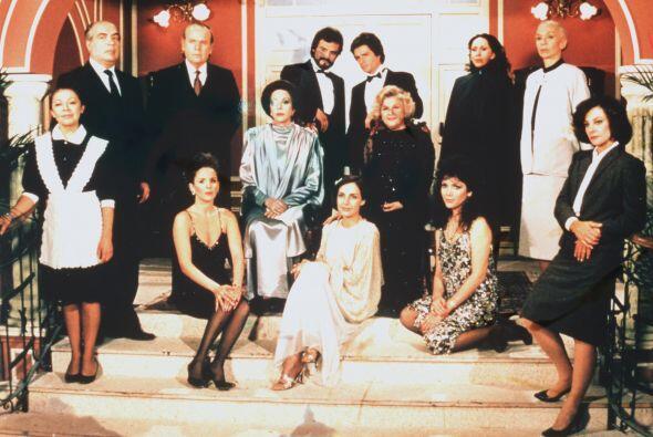 """""""Cuna de Lobos"""" es una telenovela clásica que rompi&oac..."""