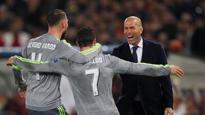 Italia, el comienzo del romance del Real Madrid en la Champions bajo la batuta de Zidane