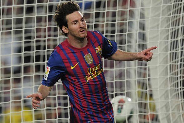 'La Pulga' marcó los cuatro goles del Barcelona...y sigue haciend...