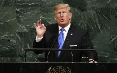 """En la ONU, Trump calificó de """"dictadura"""" el gobierno de Nicol&aac..."""