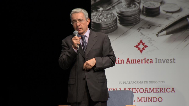 Álvaro Uribe en Miami