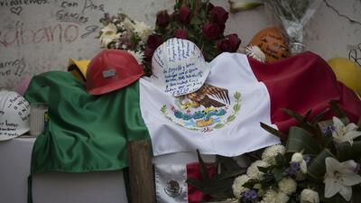 En fotos: Crean altares en memoria de las víctimas del terremoto en Ciudad de México