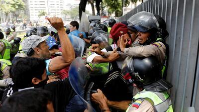 Las fotografías más impresionantes de las recientes protestas contra el gobierno en Venezuela