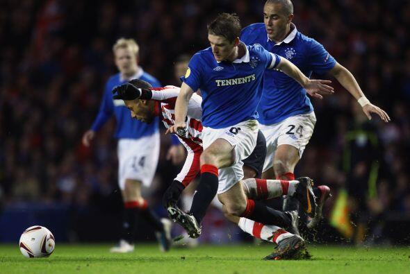 Por ello, en este segundo juego el favorito era el cuadro escocés.