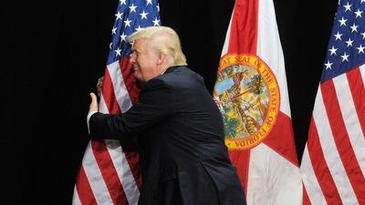 Las encuestas no le están dando buenos augurios a Donald Trump.