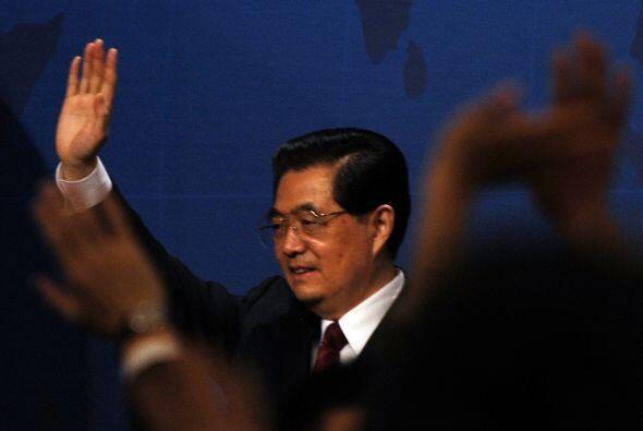 Otros mandatarios, como el chino Hu Jintao, también fueron 'salpicados'...
